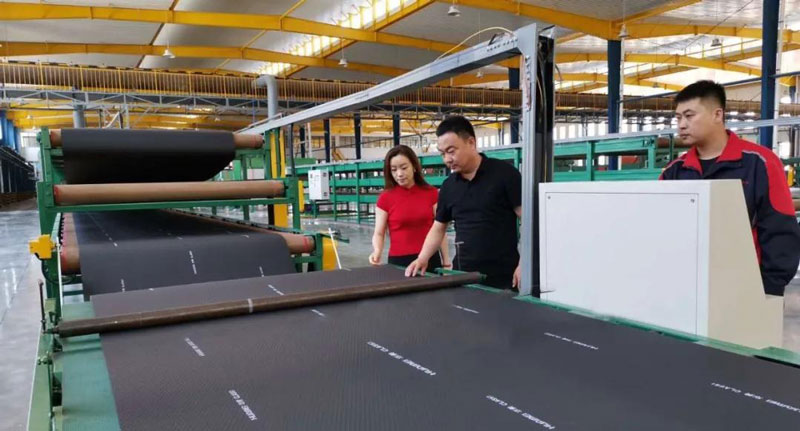 The Rubber Foam Production Lines Were Successfully put into Operation
