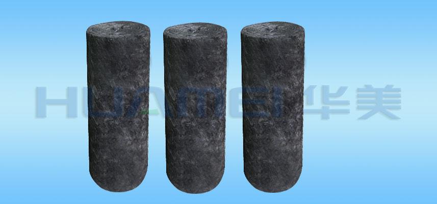 Foil-clad Glass Wool
