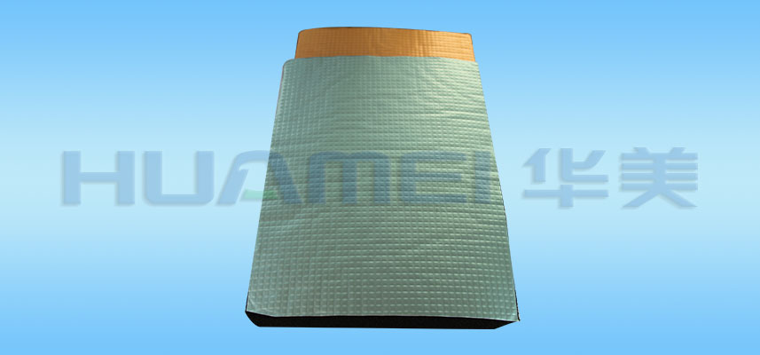 Foil-clad Rubber Foam Insulation Materials