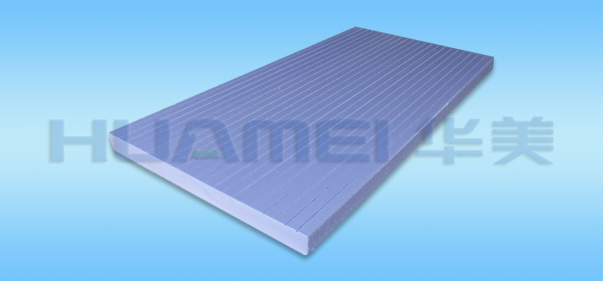 Double-slotted Extruded Polystyrene Sheet