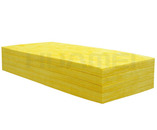 What are the architectural applications of glass wool?