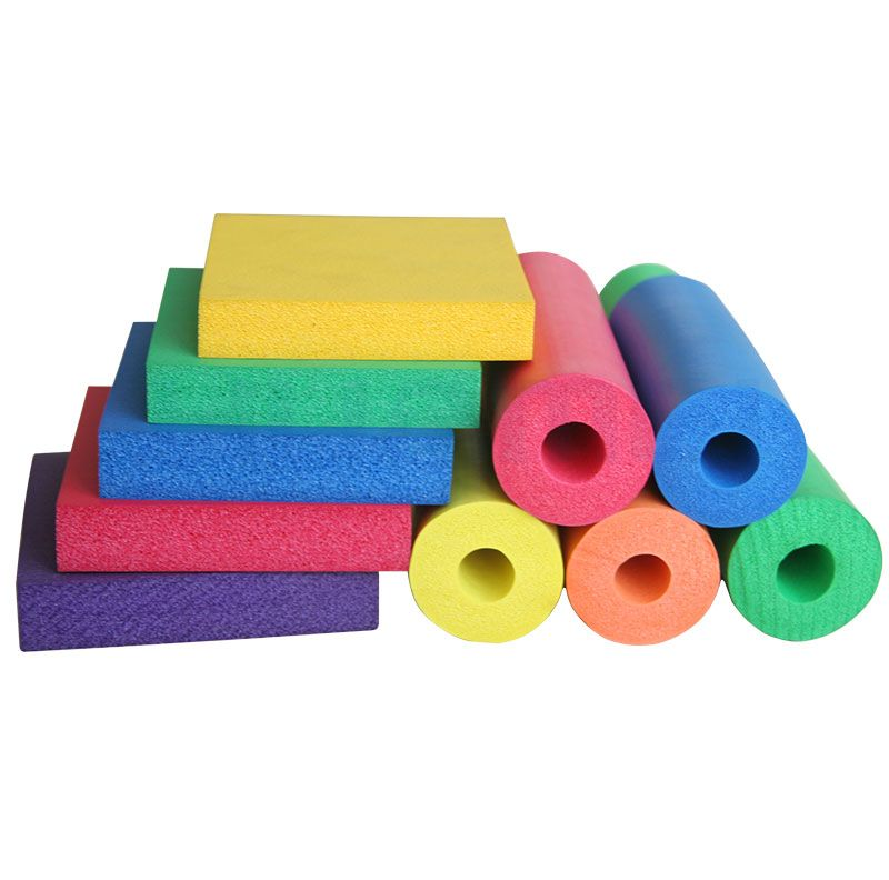 Colorful Rubber Foam
