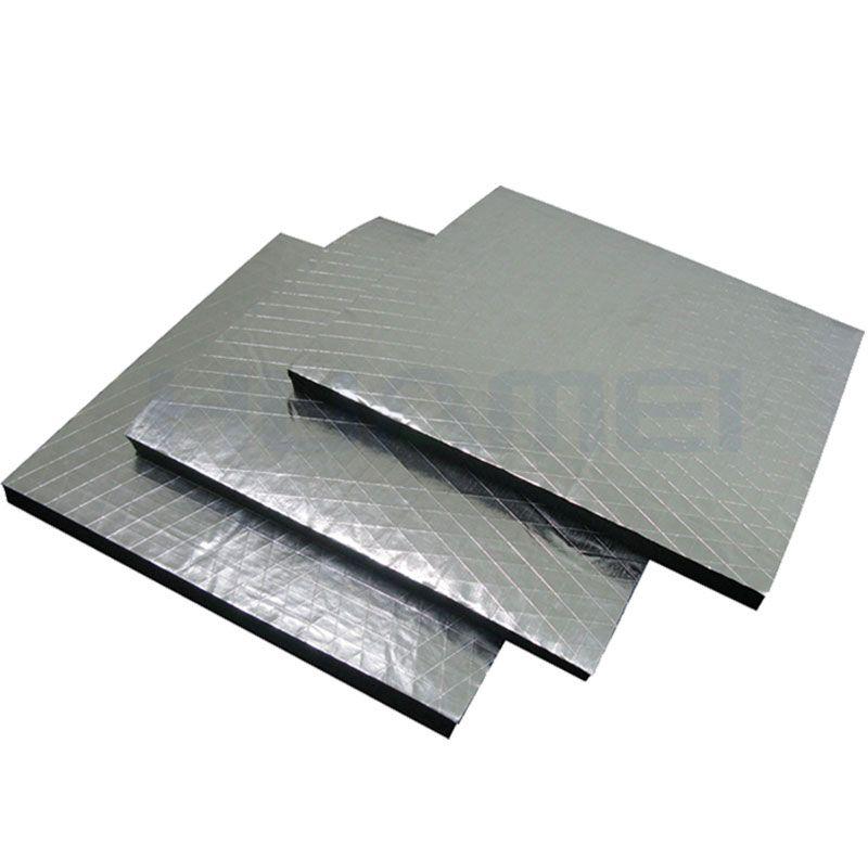 Foil-clad Rubber Foam