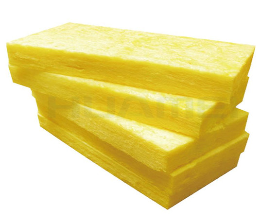 Use of Glass Wool Batts