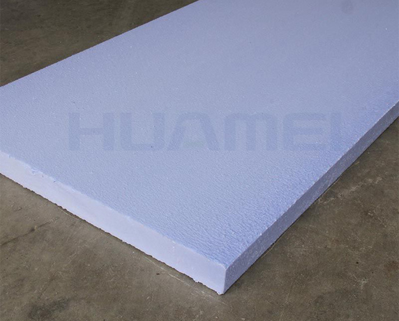 Storage Method of Extruded Board at Construction Site
